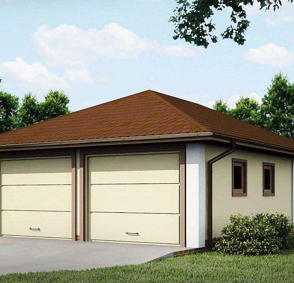 Проект гаража из СИП-панелей