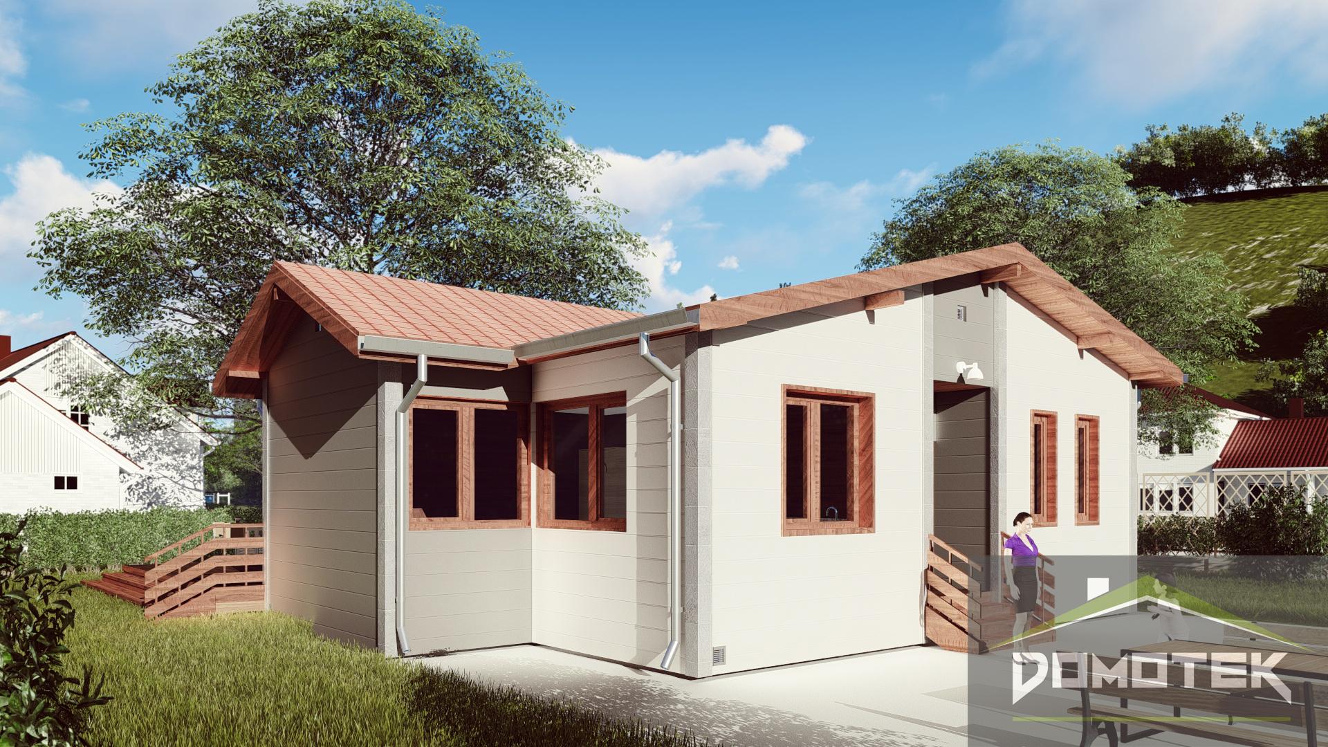 """Проект дома из СИП-панелей """"Эдельвейс"""""""